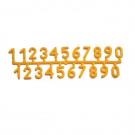 Nummern für Bienenbeuten 1-Set