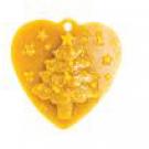 Christbaumanhänger - Herz mit Nadelbaum