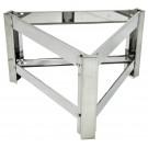 Ständer für Auftaubehälter mit Heizmantel 200l