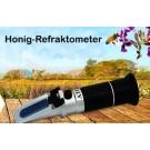 Honig Refraktometer LED Wasser- u. Zuckergehalt