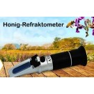 Honig Refraktometer Wasser- u. Zuckergehalt