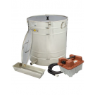 Dampfwachsschmelzer 200 Liter Edelstahl inkl. Dampferzeuger